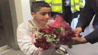 Ahmad Nawaz at the Queen Elizabeth Hospital in Birmingham