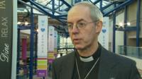 The Right Reverend Justin Welby, Archbishop of Canterbury