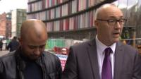 Afsar Ali and Detective Sergeant Andy Nimmo