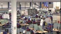 Inside call centre