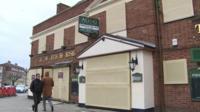 A pub that has shut-down