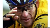Disgraced American cyclist Lance Armstrong