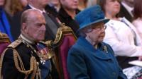 Her Majesty Queen Elizabeth II and the Duke of Edinburgh