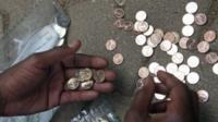 Zimbabwe's 'bond coins'