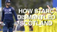 Australia's win over Scotland in numbers