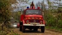 Emergency vehicle in Vanuata
