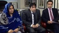 Khalida and Muzaffar Mahmood, and Aamer Anwar