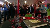BBC Persian newsroom 'flash mob' to celebrate Iranian new year