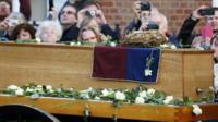King Richard III's coffin