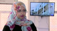 Sumaya Al-Mashgari, 24-year-old university student in Aden