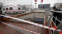 Istanbul subway station closed because of a power cut