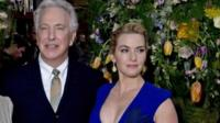 Alan Rickman and Kate Winslet