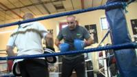 Boxing gym in Swansea