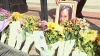 Flowers for Karen Buckley