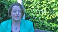 New children's commissioner for Wales Prof Sally Holland