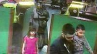 CCTV of family leaving Dover