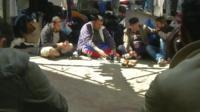 Migrant survivors in Rhodes