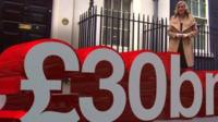 The BBC's Steph McGovern reports on the UK debt mountain