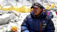 Gurkha at Everest basecamp