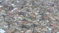 Aerial view of Bhaktapur