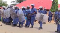 Army in Burundi