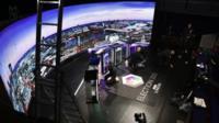 BBC London election debate studio