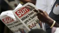 Nigerian newspaper