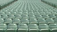 Empty Orioles staudium