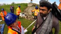 Experts on saving cultural heritage train during a mock scenario in The Netherlands.