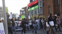 Protest in Philadelphia