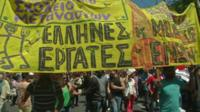 Labour Day demonstrations in Athens