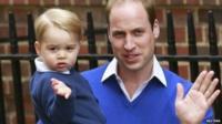 Princes William and George