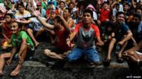 Reaction in Manila