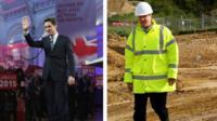 Ed Milband and David Cameron