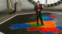 Virtual map
