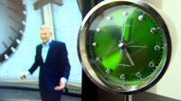 Jeremy Vine with clock