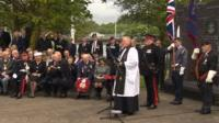 VE Day Swansea parade