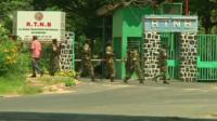 Soldies in Burundi