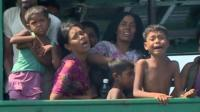 Myanmar migrants on boat