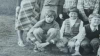 Geert Kruit in a school photo
