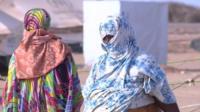 Women in Djibouti camp