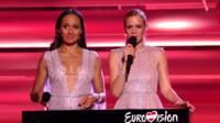 Eurovision hosts