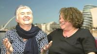 Feargha Ni Bhroan and Linda Cullen