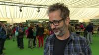 David Baddiel interview at the Hay Literary Festival