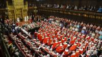 State Opening of Parliament at the House of Lords in 2013