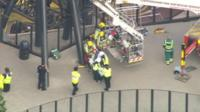 Man rescued from Smiler ride