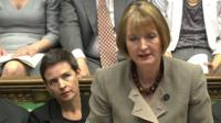 Harriet Harman at PMQs