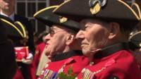 Chelsea Pensioners receive highest honour