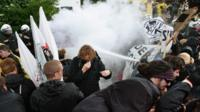 Clashes ahead of G7 summit