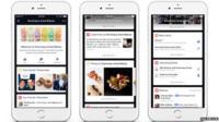 Facebook beacon in News Feed